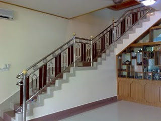 Home stairs for Balustrade aluminium exterieur