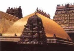 Golden Roof of Chidambaram Nataraj Temple