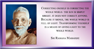 Ramana Maharishi's words