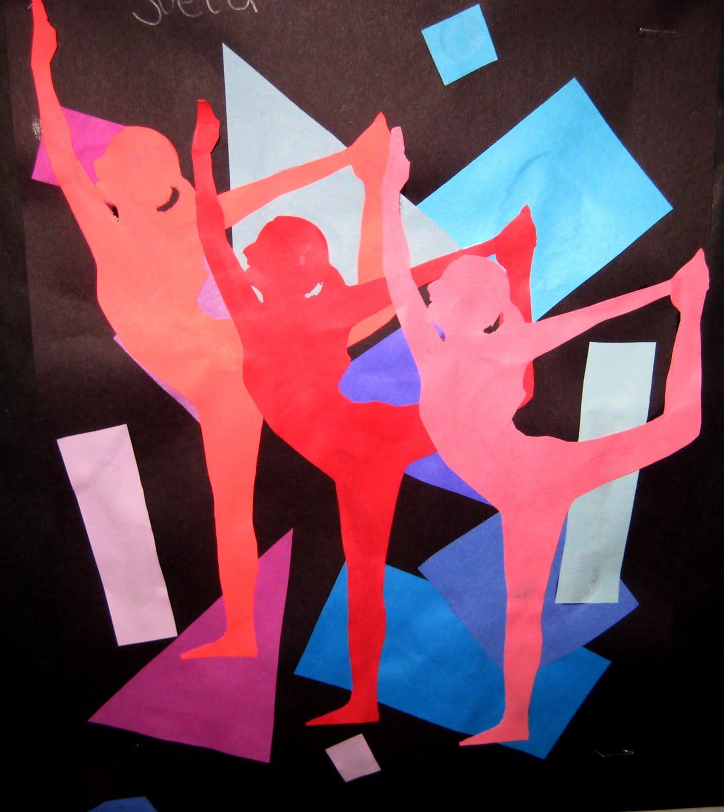 Principles Of Art Rhythm And Movement : Mrs art teacher rhythm people
