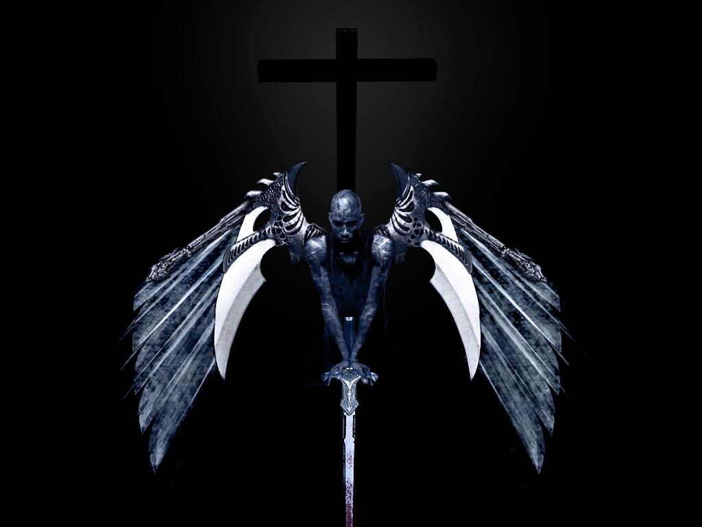 mild blogs  gothic angel wallpaper