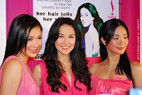 Maja Salvador, Marian Rivera and Heart Evangelista for Sunsilk