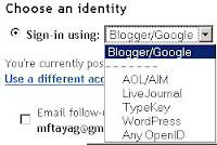 blogger OpenID commenting system