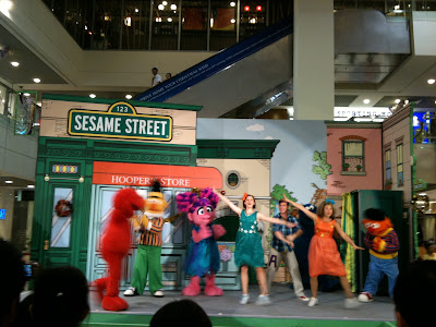 Sesame Street Cast in Singapore 3