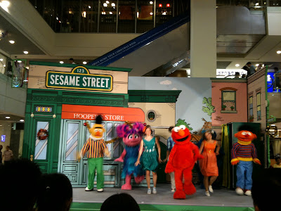 Sesame Street Cast in Singapore 2