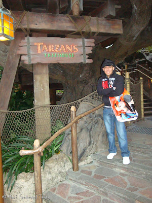 Disneyland's Tarzan's Tree House Photo 4