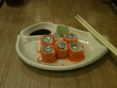 Ajisen Ramen Photo california maki