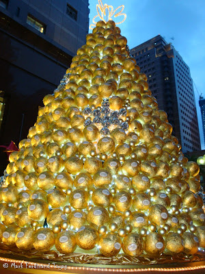 Ferrero Rocher Christmas Tree in Singapore 2
