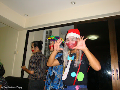 Christmas Clown Party in Singapore 2009 Photo 2