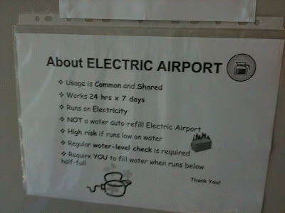 Electric Hot Airport