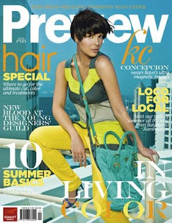 KC Concepcion on Preview Magazine