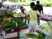 At Punggol Fresh Market