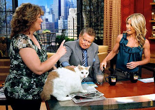 Powder in Live with Regis and Kelly