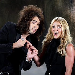 Britney Spears and Russel Brand