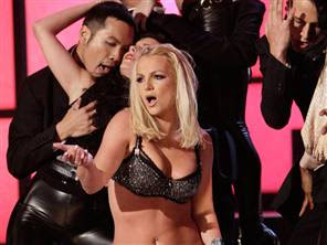Britney Spears during VMA 2007