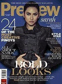 Sarah Geronimo Preview Magazine Cover sexy picture scandal
