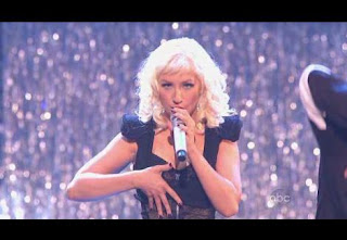 American Music Awards 2008 Christina Aguilera
