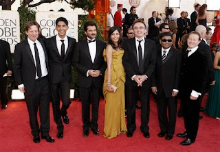 Slumdog Millionaire cast and crew