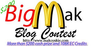 Big Mak Blog Contest Is Officially Over