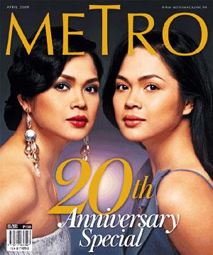 Judy Ann Santos Metro Magazine Cover