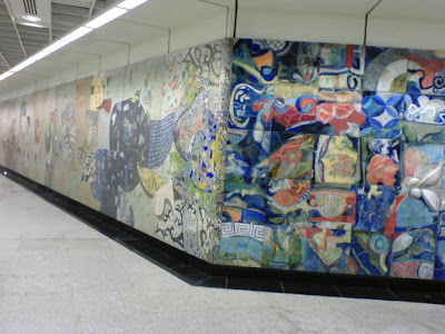 MRT Singapore Art Work 2