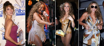 Mariah Carey's Weight Battle