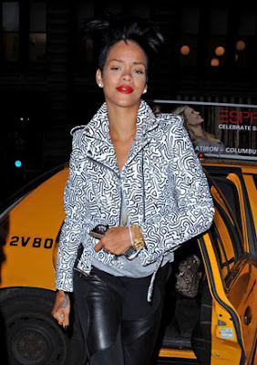 Rihanna's New Hair Do