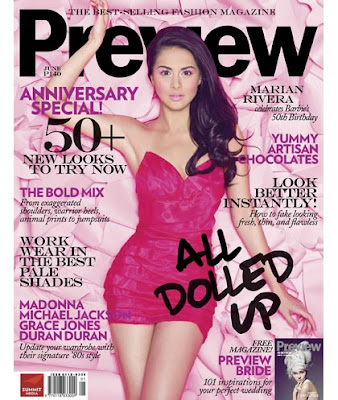 Marian Rivera Preview Magazine June 2009