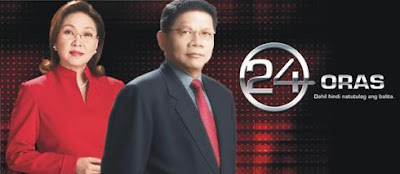 AGB Mega Manila TV Ratings (July 10-13, 2009) 24 Oras