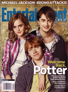 Harry Potter Cast on Entertainment Weekly