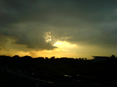 Singapore Sunset Photo 1