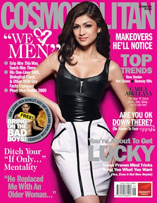 Carla Abellana Cosmopolitan Philippines September 2009