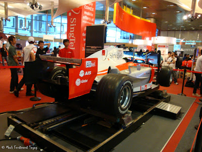 Singtel Sports Car At PC Show Photo 3