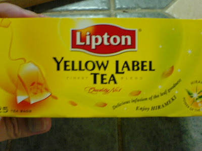 Lipton Tea Funny Label On The Back 1