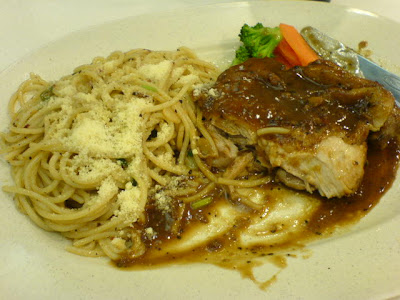 Spagetti Too Grilled Chicken Pasta Combo
