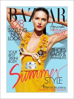 Amanda Ware Harpers Bazaar