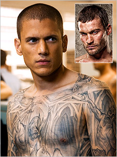 Wentworth Miller Eyeing Lead Role in Spartacus