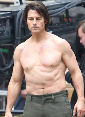 Tom Cruise Awful Soggy Chest