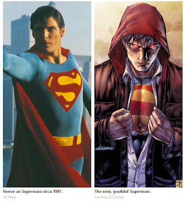 New Superman Makeover