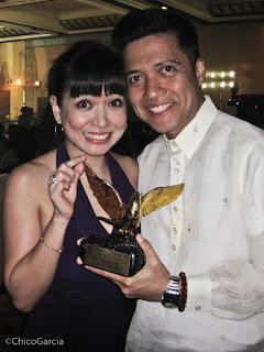 19th KBP Golden Dove Awards Chico and Delamar