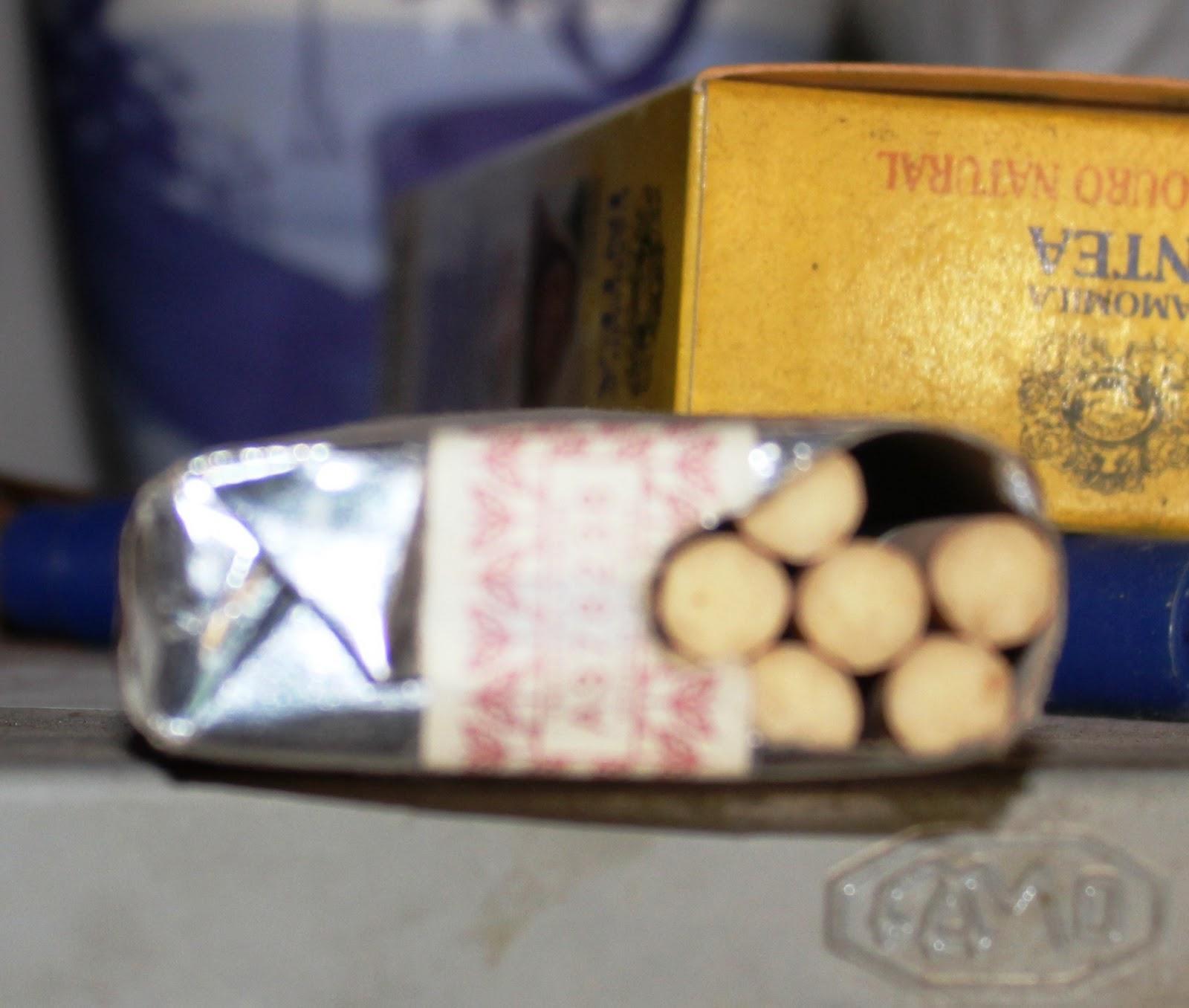 Chocolate fumante deixado