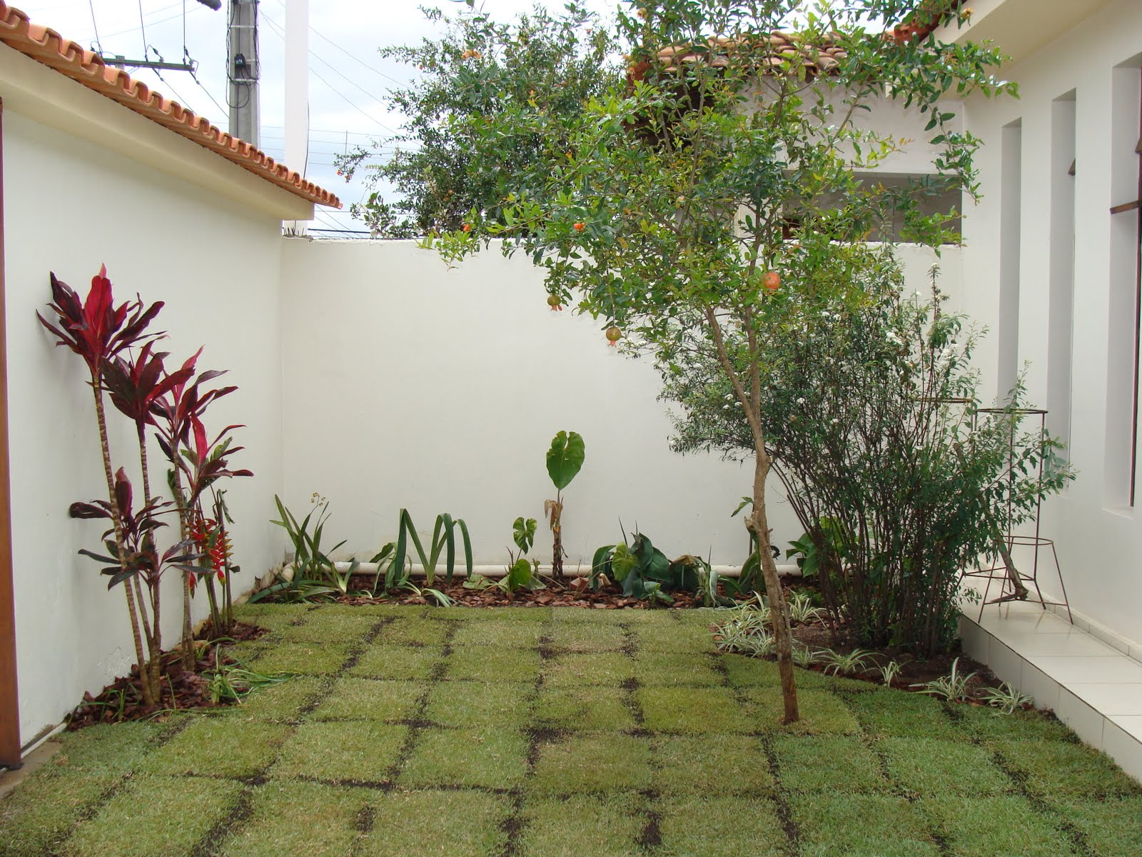 Jardim natureza pequeno espa o for Jardines pequenos simples