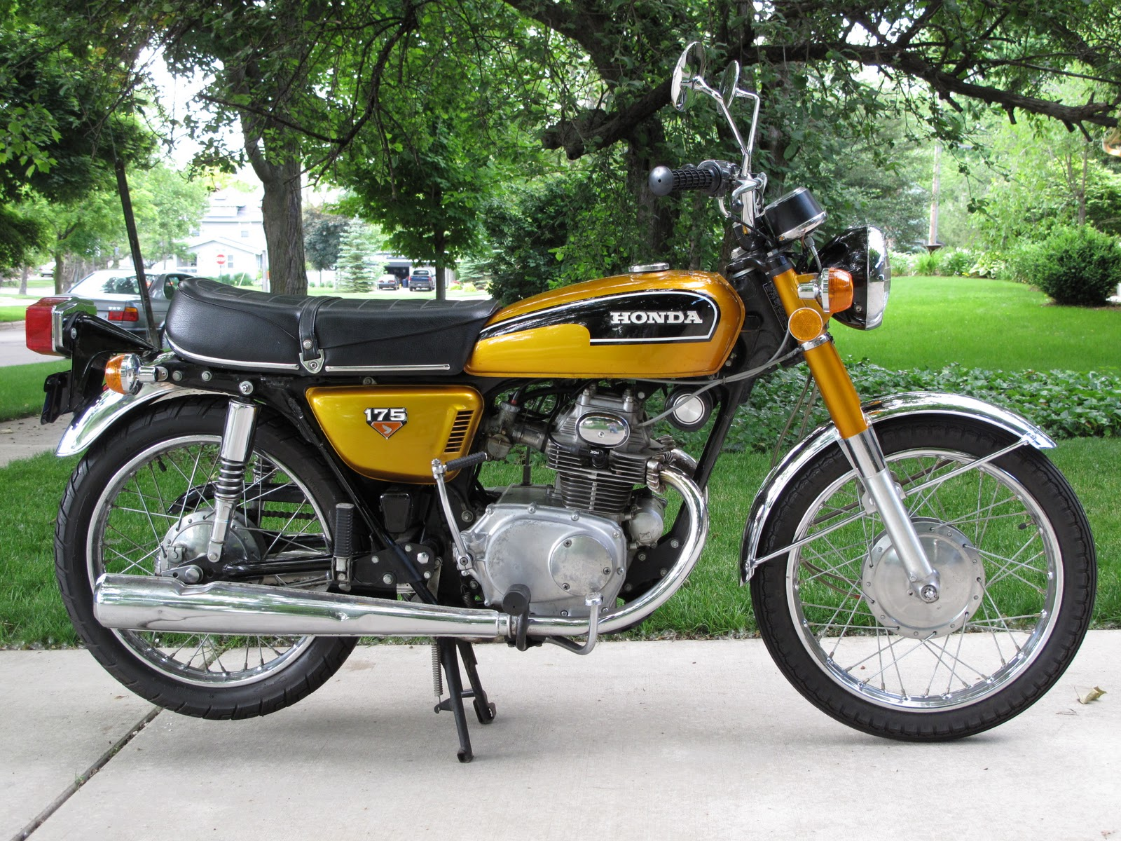 1971 Honda Cl175 Wiring Diagram Search For Diagrams Cb175 1972 Pictures To Pin On Pinterest Pinsdaddy Cafe Bike