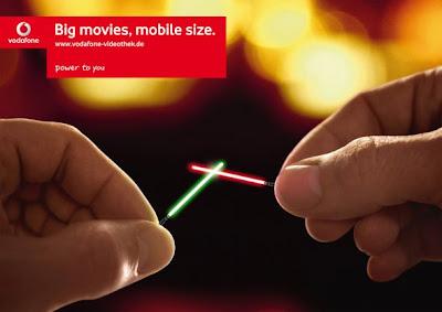 Comeek - Publicité Vodafone Star Wars