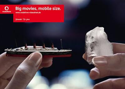 Comeek - Publicité Vodafone Titanic