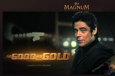 Magnum Gold - Jouez aux côtés de Benicio del Toro