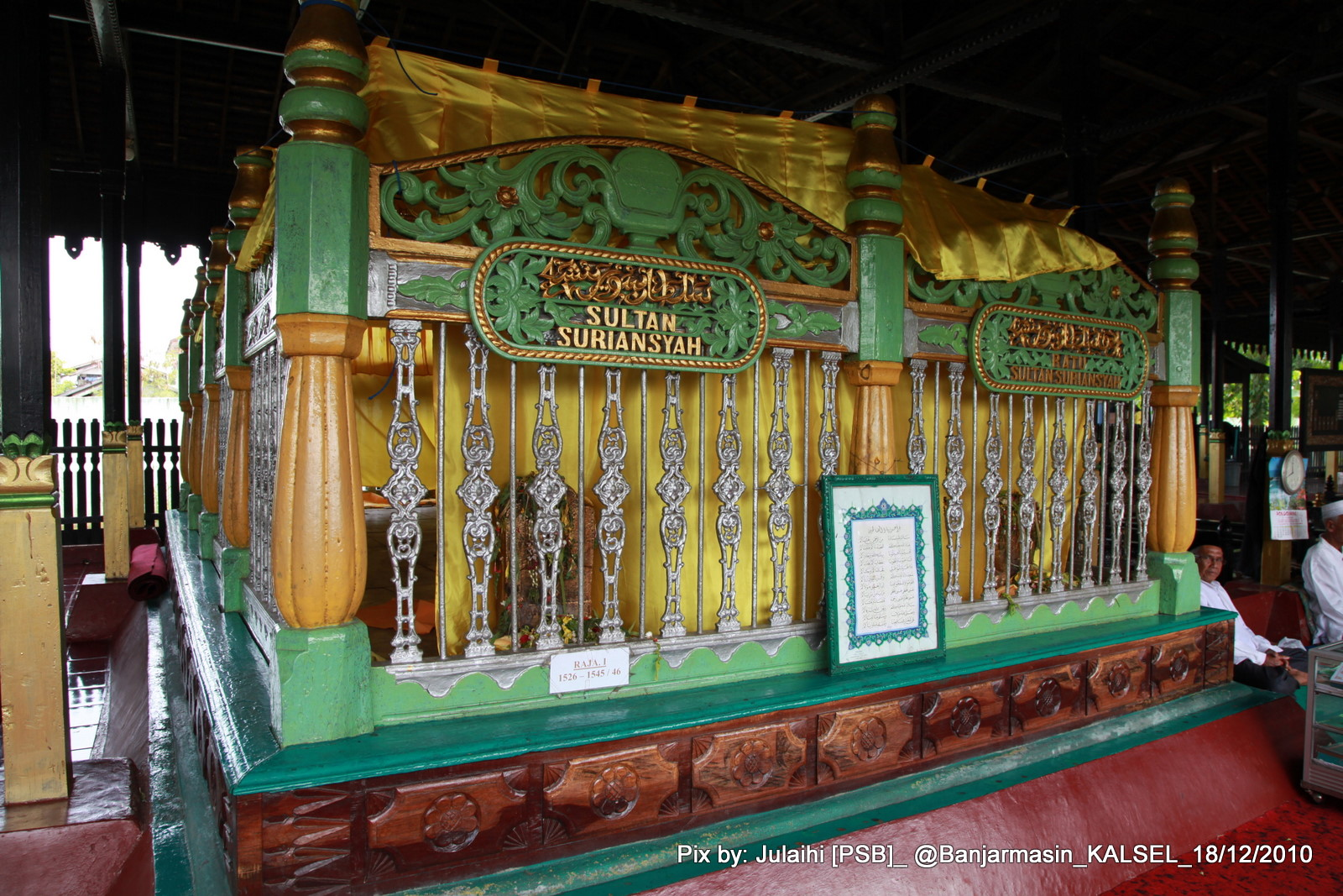 Image result for Makam Sultan Suriansyah