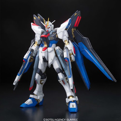 Gundam MG Strike Freedom Gundam Full Burst Mode Scale 1/100