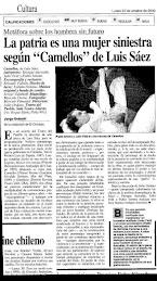 CAMELLOS, Nota Jorge Dubatti.