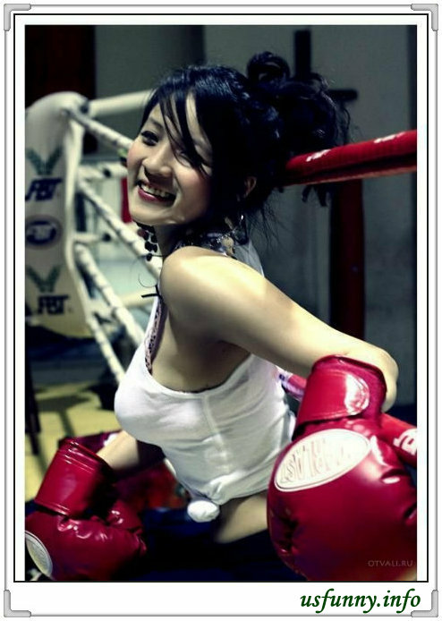Agree, sexy asian girl boxing magnificent